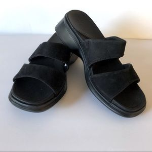 Hush Puppies 2 band Slide Sandals Size 6.5